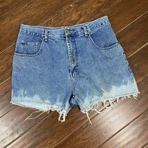 Vintage Weekends Mom Jean Shorts Size 36 High Rise